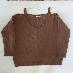 Urban Outfitters Off-the-shoulder Sweater